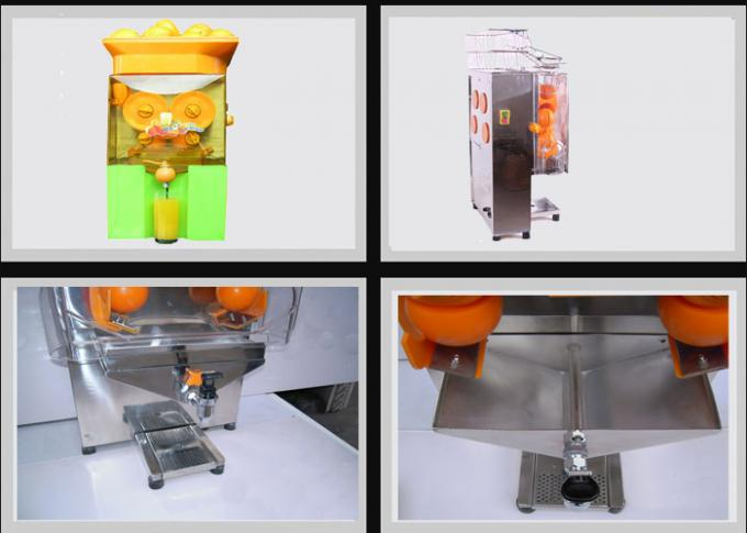 Elegant Fresh Juice Commercial Orange Juicer Machine Full Automatic 220V 50hz