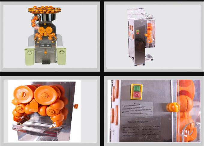 Stainless Steel Automatic Orange Juicer Machine , Citrus Squeezer For Entertainment