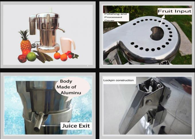 OEM ODM Commercial Fruit Juice Extractor / Centrifugal Juice Machine For Tea 2800r/min