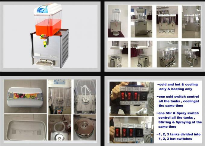Automatic Cold Drinking Dispenser / Large Beverage Dispenser For Milk