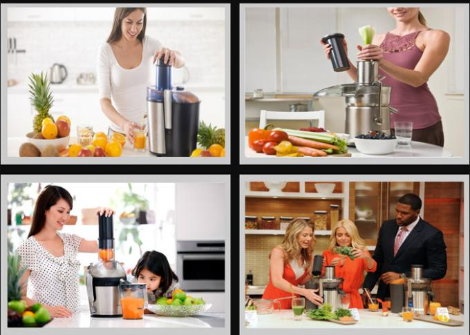 OEM ODM Commercial Juice Extractor For Tea With Large Power , 2800r/min
