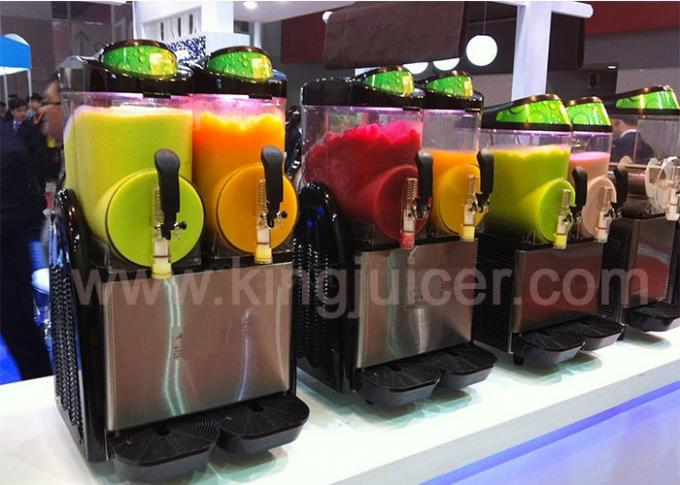 Commercial Jet Spray Milk / Juice Dispensers Machine with Four PC Tank