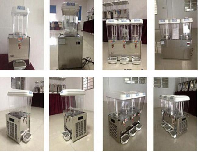Triple Tank Commercial Automatic Beverage Dispenser Fruit