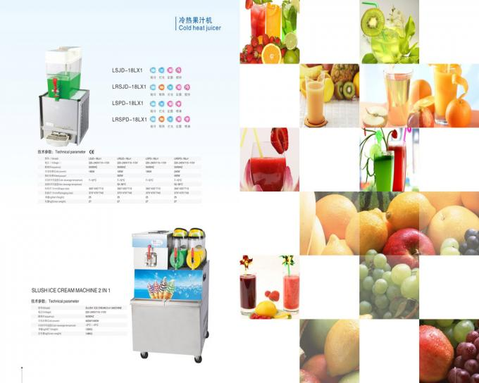 9L×2 Commercial Beverage Dispenser / Juicer Blender For Hotel or Restaurant