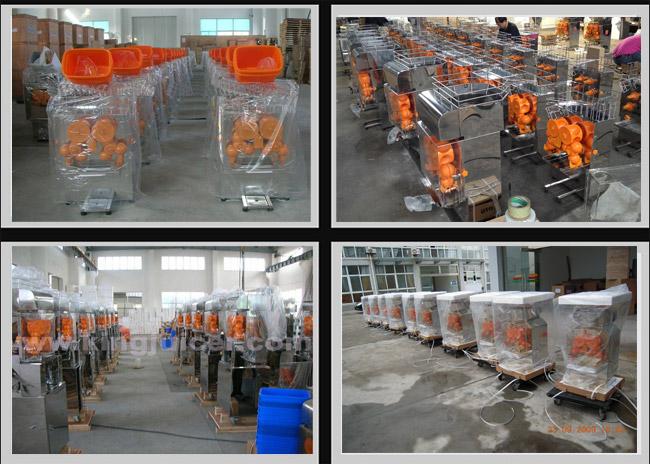 High Output Zumex Orange Juicer Automatic Orange Juice