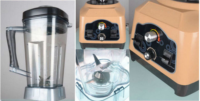 1390W Super Powerful Motor High Performance Commercial Ice Blender Machine