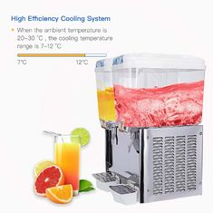 China Stainless Steel Fruit Juice Dispenser supplier