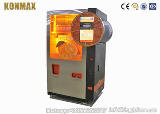 Restaurant Intelligent Automated Fresh Orange Juice Vending Machine With CE Certificate