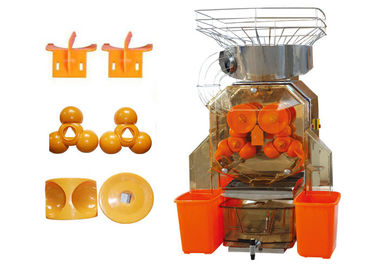 China 304 Staninless Steel Orange Juicer Extractor 370W Commercial For Coffee Bar supplier