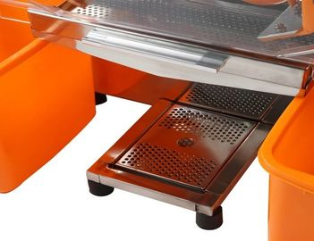 Automatic Zumex Orange Juicer with Auto Feed Hopper Commercial Grade For Industrial