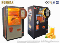 Automatic Commercial Fresh Fruit Orange Juice Vending Machine With Nfc , Low Noise
