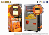 Professional Coin Operated Fruit Juice Vending Machine Refrigeration System