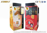 Automatic Ozone Sterilazation Orange Juice Vending Machine With Apple Pay Credit Card