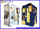 Touch Screen Cold Fresh Juice Vending Machine 24 Hours For Self Service