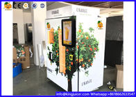 Commercial Automatic Fresh Juice Vending Machine Credit Card / Coins / Notes Acceptors