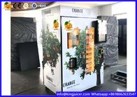 Cold Refrigerator Orange Fresh Vending Machine , Juice Vending Machine