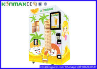 Automatic Freshly Squeezed Orange Juice Vending Machine For Commercial