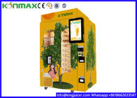 Coin And Note Payment Fresh Orange Juice Vending Machine With Cooling System
