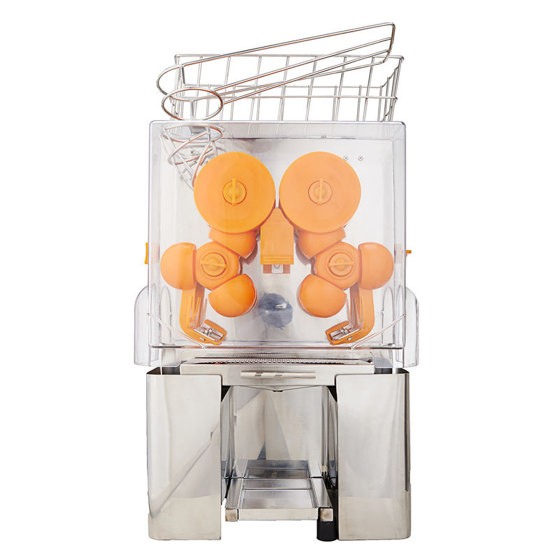 All-In-One Orange Juice Squeezer Table Top  Automatic Feeder