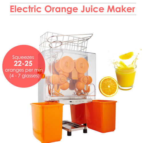 High Output Industrial Orange Juicer Machine Lemon Squeezer With Auto Pulp Removal