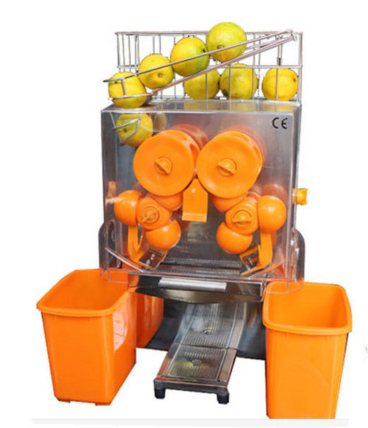 Automatic Feed Orange Juicer Machine Bar Citrus Juice Extractor 120W