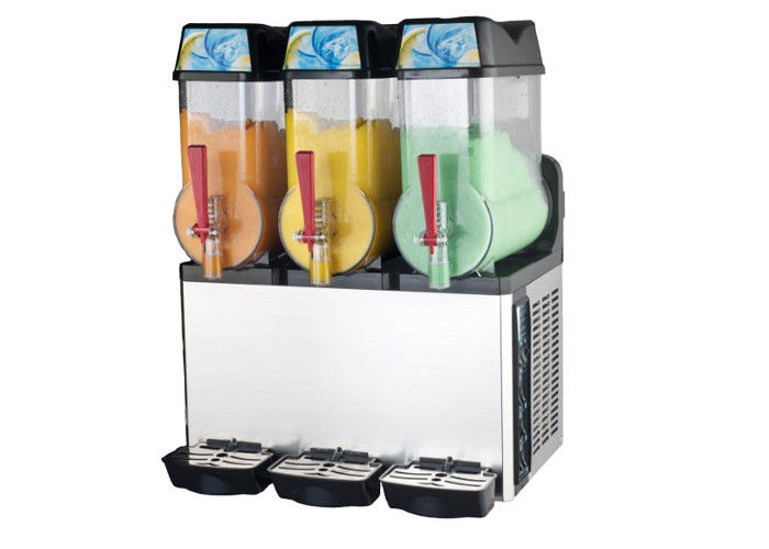 three bowl ice slush machine granita smoothie electrics retro slush for home. Black Bedroom Furniture Sets. Home Design Ideas