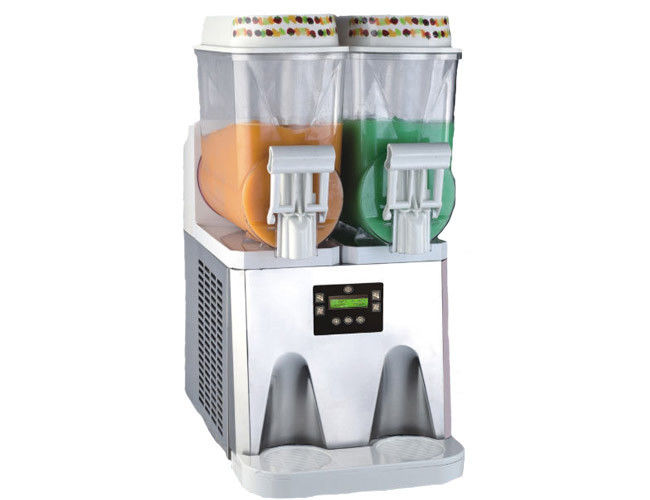 Double Tank Commercial Frozen Drink Machine / Smoothie Maker for Household