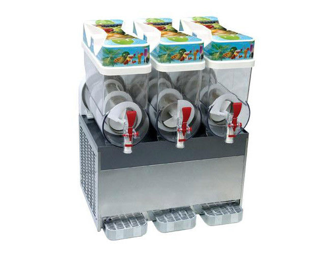 Frozen Granita Ice Slush Machine With Smoothie Machines For Supermarket