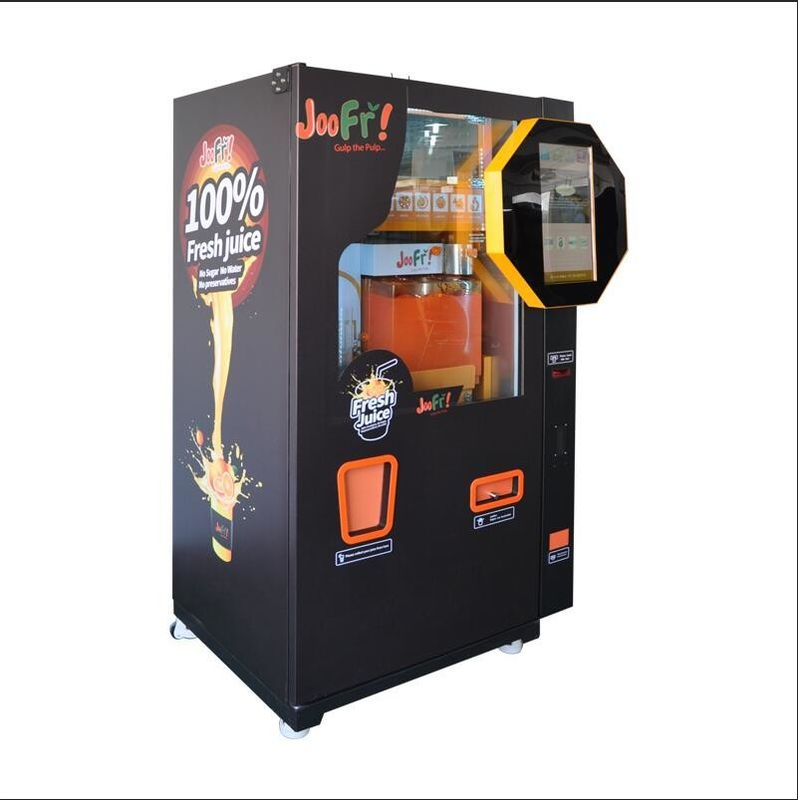 Shopping Mall Commercial Orange Juice Vending Machine Coins