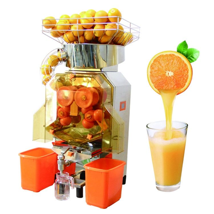 Heavy Duty spiral screw Stainless Steel Commercial Crushing Orange Juicer