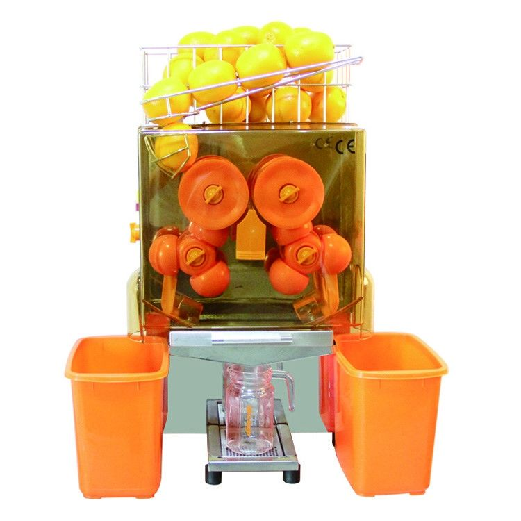 Commercial Juice Extractor Machine Auto Feed Orange Squeezer Compact Design