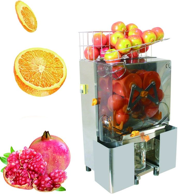 Fresh Fruit And Vegetable Industrial Automatic Orange Juicer Machine For Hotel
