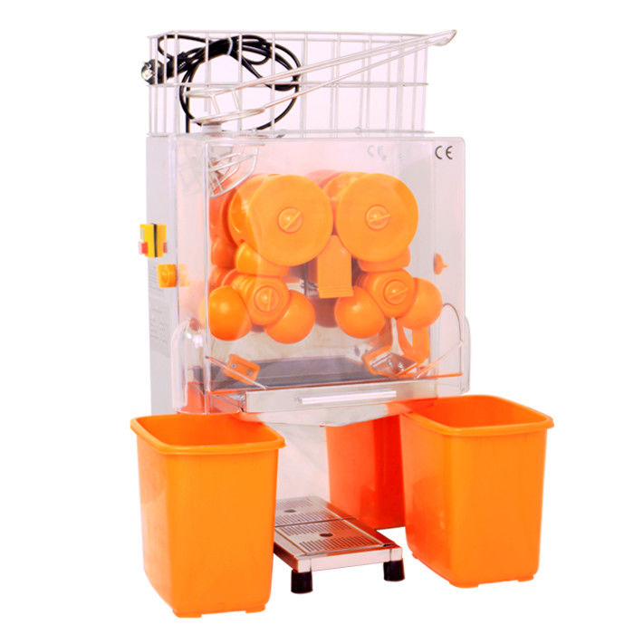 220V Commercial Automatic Orange Juice Machine / Stainless Steel Lemon Squeezer For Store