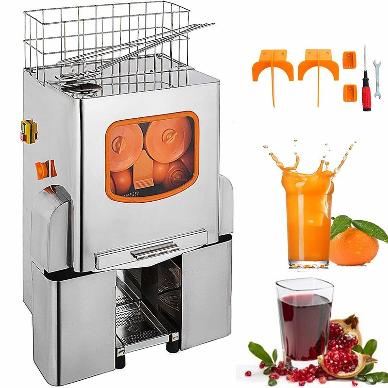 Commercial Orange Juice Squeezer Machine , Fruit And Vegetable Juicing Machine