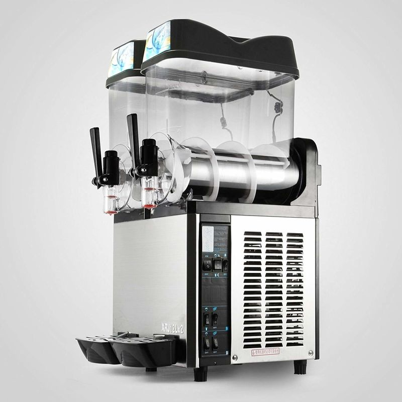Frozen Granita Ice Slush Machine Slush / Smoothie Machine 12 L For Cafe And Bars
