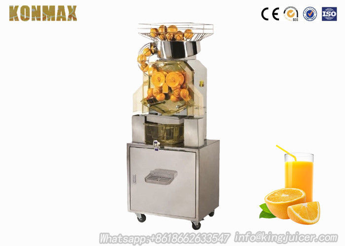 Automatic Commercial Orange Juicer Machine With Touchpad Switch
