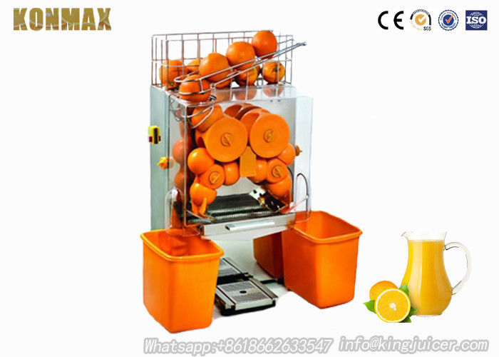 Commercial Auto Feed Orange Squeezer Juicer 3L High Speed 22-25/mins