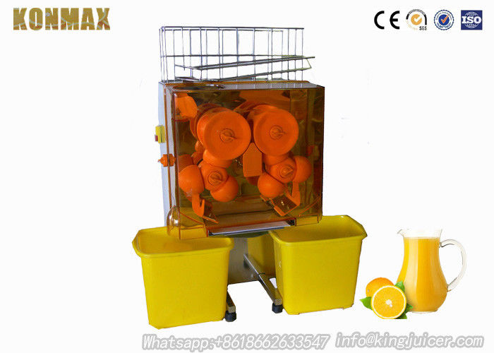 Orange and Pomegranate Automatic Commercial Fruit / Vegetable Juicer Machine 770mm Height