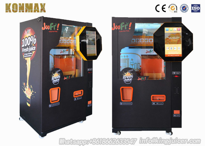 Auto Coin Operated Freshly Squeezed Orange Juice Vending