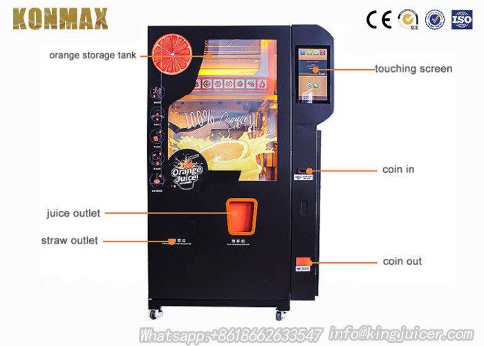 Saudi Arabia Fresh Orange Juice Vending Machine With Ozone