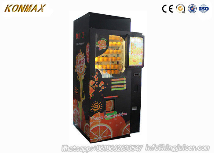 CE Commercial Auto Orange Fresh Vending Machine , Fresh Fruit Juice Vending Machine