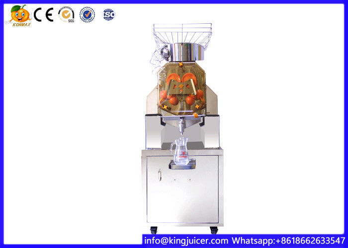 Stainless Steel Automatic Orange Juicer Machine , Orange Squeezer Machine