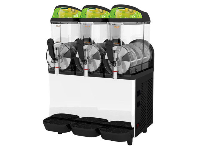 Electronic Auto Commercial Frozen Margarita Slush Machine 10L Three Tank