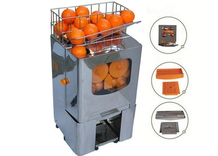 High Capacity Orange Juice Extractor Cafes Bars