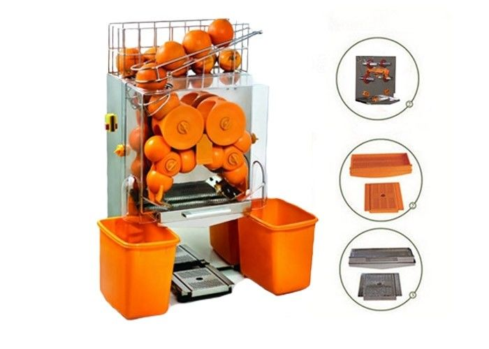 Automatic High Efficiency Electric Citrus Juicer Stainless Steel For Bar