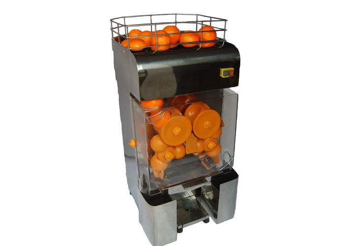 CE Stainless Steel Commercial Fruit Juicer / Orange Juice Juicer For Coffee Shop