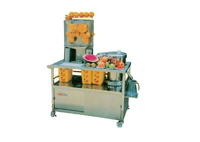 Automatic Fresh Commercial Orange Juicer Machine 370w For Drink Shops