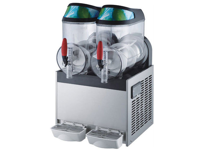 10L×2 Ice Slush Machine ,Ice Frozen Drink Margartia Slushy Machine 2 Twin Flavor