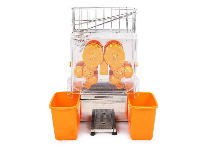Fresh Squeezed Orange Juice Extractor Machine Processing Types Stainless Steel