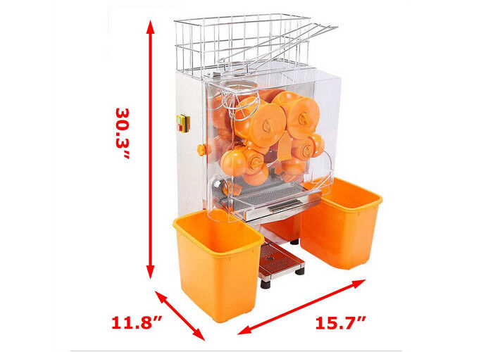 Catering Commercial Orange Juice Squeezing Machine With Peeling Off